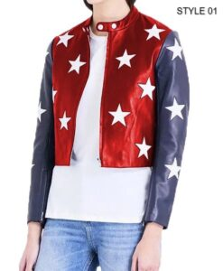 Independence Day 4 July Cropped Jacket Style 1