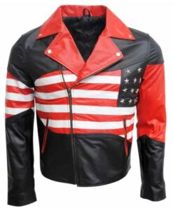 Independence Day American Flag Jacket