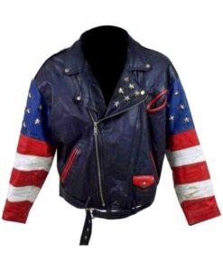 Independence Day Stars Studded Jacket