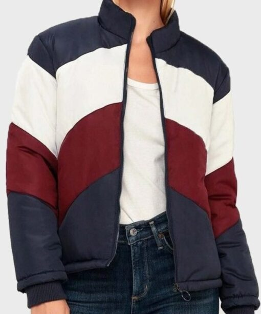 Kylie Estevez Parachute Color Block Jacket