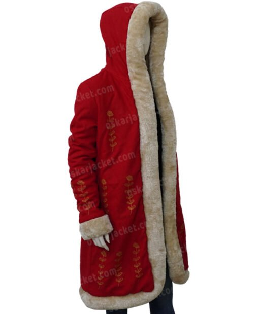 The Christmas Chronicles 2 Mrs. Claus Fur Coat Left