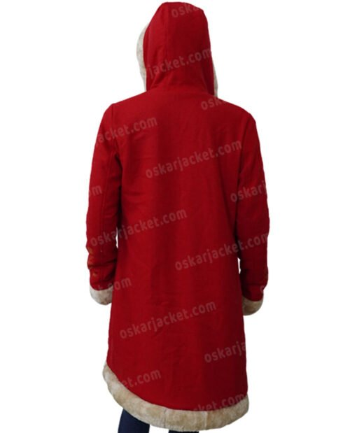 The Christmas Chronicles 2 Mrs. Claus Fur Coat back