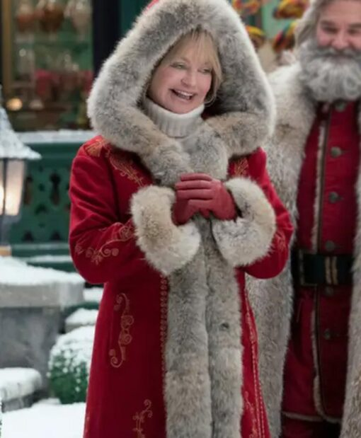 The Christmas Mrs Claus Wool Coat