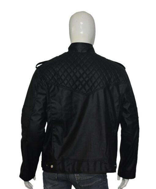 Batman Arkham Knight Leather Black Jacket