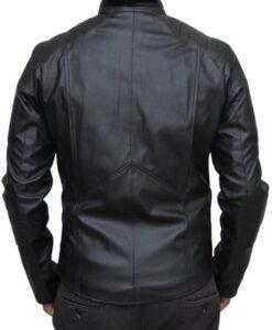 Batman Logo PU Leather Black Jacket