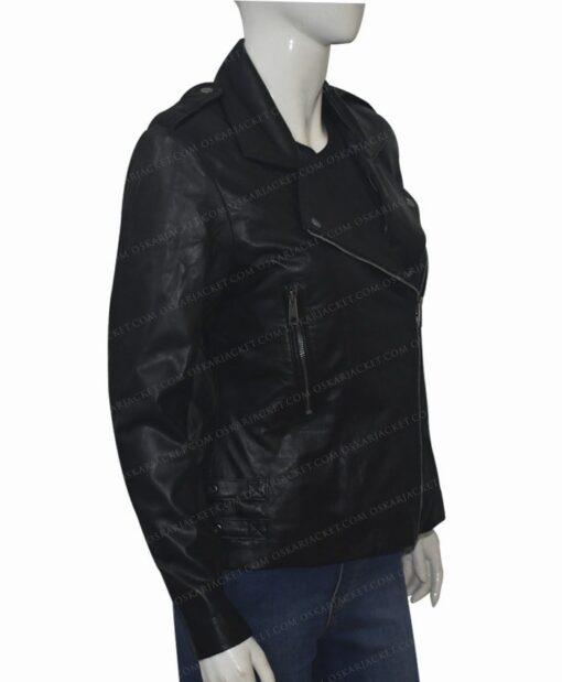 Black Widow 2021 Natasha Romanoff Biker Jacket Right