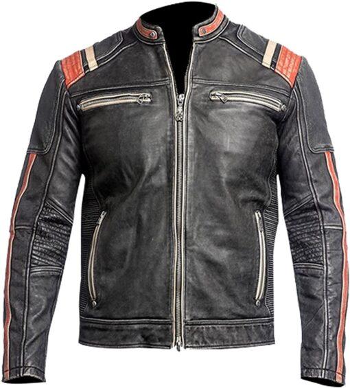 Cafe Racer Vintage Biker Retro Jacket