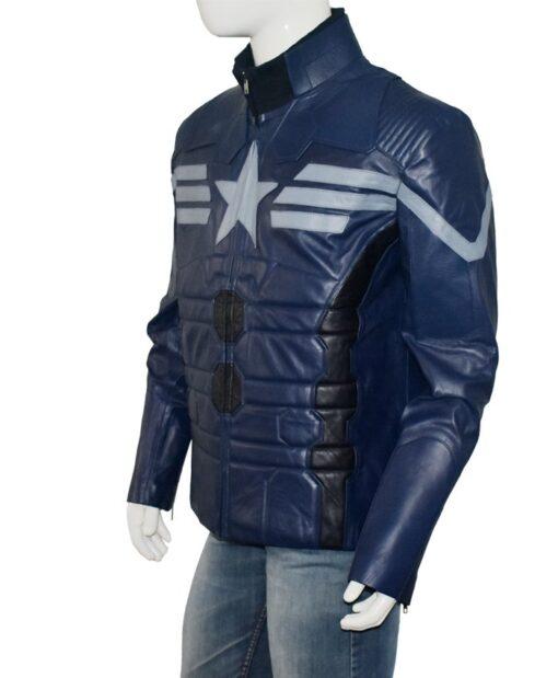 Captain America Bucky Barnes Jacket