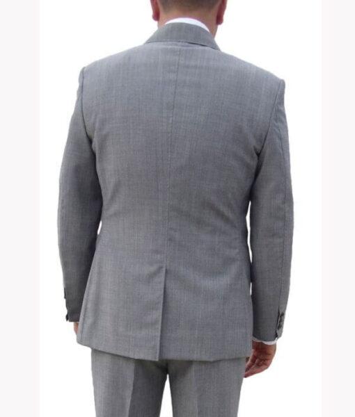 Daniel Craig Skyfall Grey Wool Suit