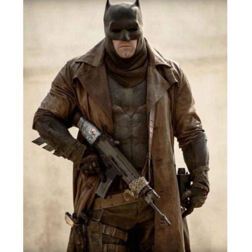 Dawn Of Justice Batman Distressed Coat