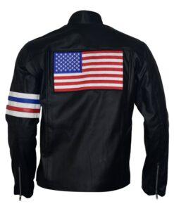 Easy Rider Captain America Black Jacket