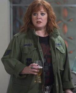 Lydia Berman Thunder Force Melissa McCarthy Green Jacket Image