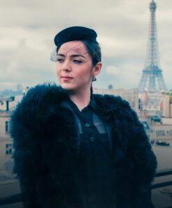 Madame Claude Garance Marillier Black Jacket