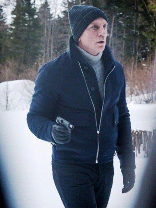 Spectre James Bond Lake Wool Jacket