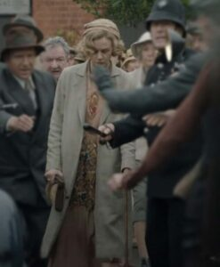 The Dig Edith Pretty Wool Coat