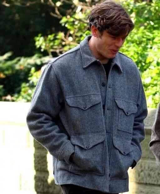 Things Heard & Seen James Norton Grey Jacket