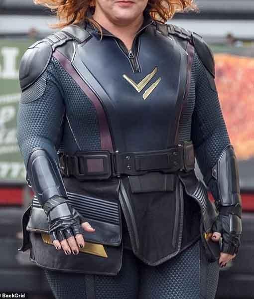 Thunder Force 2021 Lydia Black Costume Jacket Front