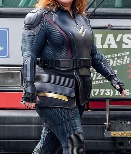 Thunder Force 2021 Lydia Black Costume Jacket Side Image