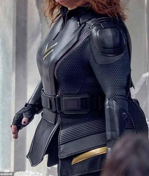 Thunder Force 2021 Lydia Black Costume Jacket Side