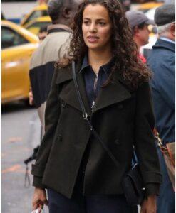Athena Manifest Grace Stone Black Wool Peacoat Image
