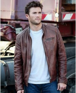 Fast And Furious 8 Scott Eastwood Leather Jacket
