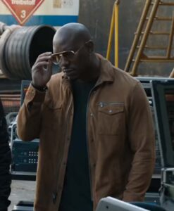 Fast and Furious F9 Roman Brown Jacket Image