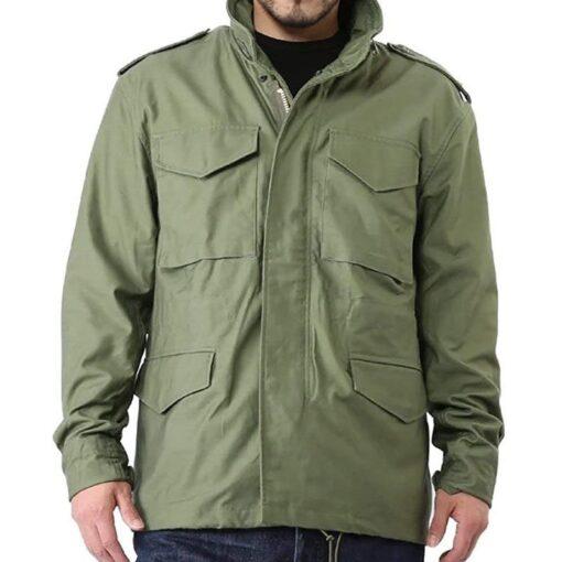 Jason Statham Hobbs & Deckard Shaw Green Jacket Image