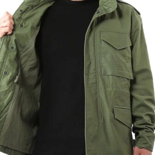 Jason Statham Hobbs & Deckard Shaw Green Jacket Inner