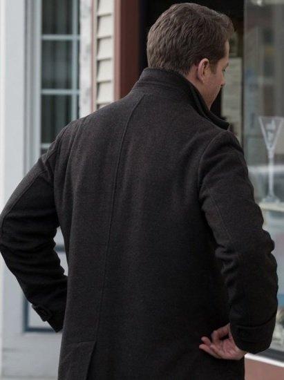 Josh Dallas Manifest Ben Stone Wool Coat Back
