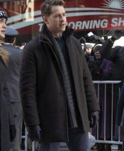 Josh Dallas Manifest Ben Stone Wool Coat Front