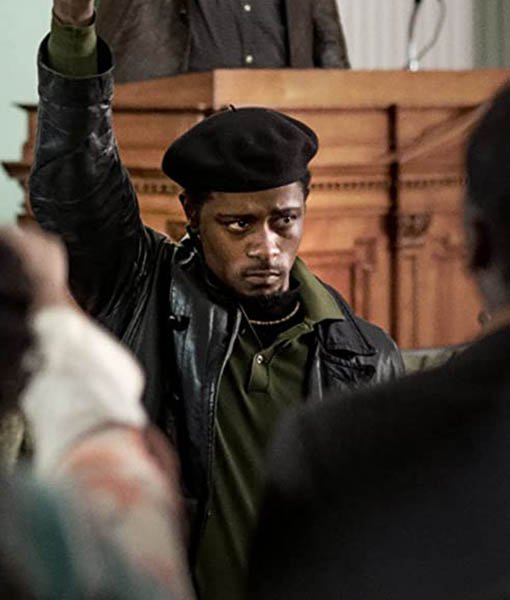 Judas And The Black Messiah Bill O'Neal Leather Jacket Image