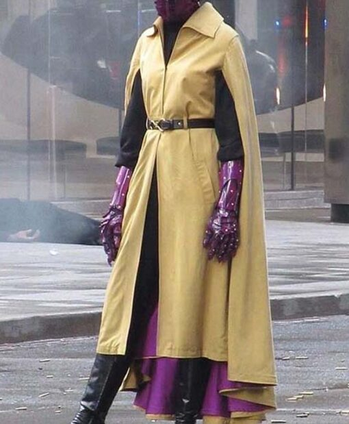 Jupiter's Legacy Grace Yellow Coat