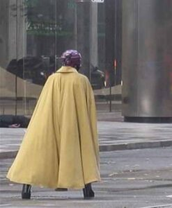Jupiter's Legacy Grace Yellow Coat Back