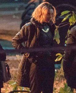 Loki Sophia Di Martino Black Parachute Coat