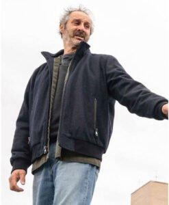 Manifest Harvey Stein Bomber Blue Jacket Front Image