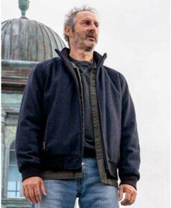 Manifest Harvey Stein Bomber Blue Jacket Image