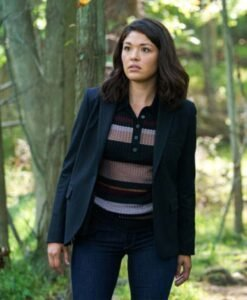 Manifest S03 Drea Mikami Black Suiting Blazer Image