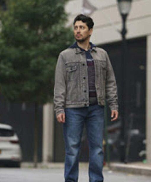 Manifest Season 03 Eagan Tehrani Denim Jacket Image