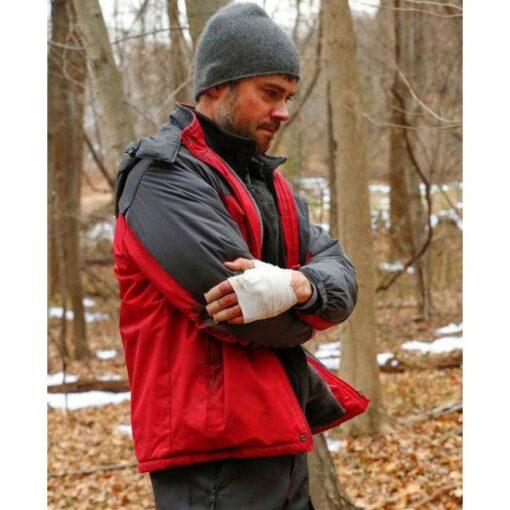 Matt Long Manifest Hooded Jacket Side Image