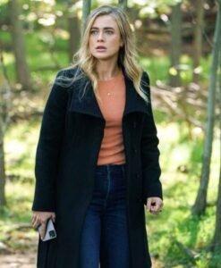 Melissa Manifest S03 Michaela Stone Black Coat Image