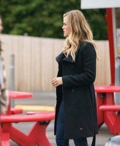 Melissa Manifest S03 Michaela Stone Black Coat Side