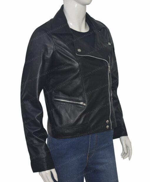 Michaela Stone Manifest Leather Jacket Left
