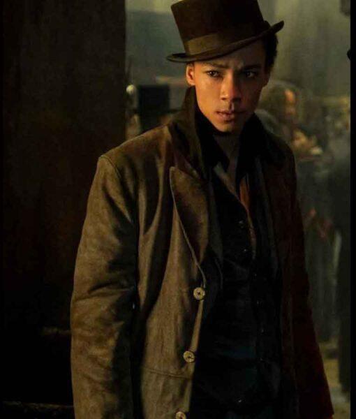 Shadow and Bone Jesper Brown Coat