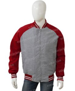 Shang Chi Red Bomber Jacket Front