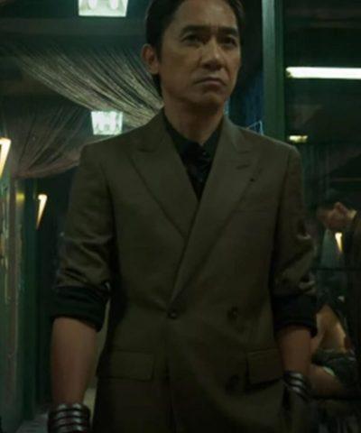 Shang-Chi and the Legend of the Ten Rings Xu Wenwu Green Blazer