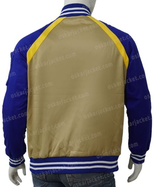 Simu Liu Shang-Chi and the Legend of the Ten Rings Bomber Jacket Back