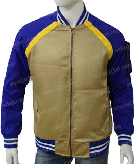 Simu Liu Shang-Chi and the Legend of the Ten Rings Bomber Jacket Front