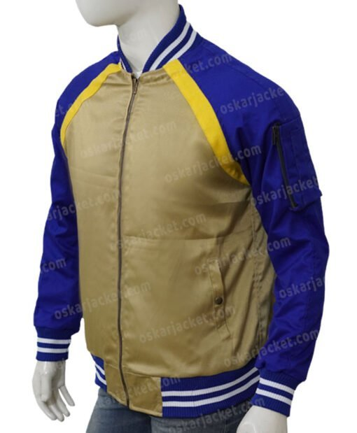 Simu Liu Shang-Chi and the Legend of the Ten Rings Bomber Jacket Left