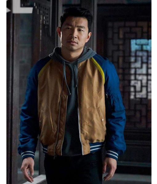 Simu Liu The Legend of The Ten Rings Bomber Jacket