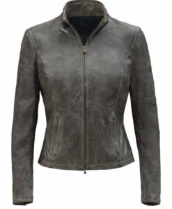The Fate Of The Furious Letty Slim fit Leather Jacket Image